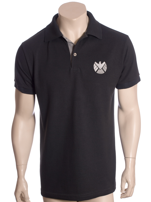 Shield Marvel - Camisa Polo  281d24bd2859c